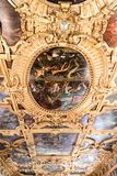 Doge`s Palace Palazzo Ducale Paint on the Ceiling stock photography