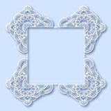 Ornate greeting card, christmas decoration Stock Image