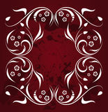 Ornate grunge banner Royalty Free Stock Photography