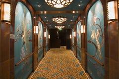Ornate Hallway Royalty Free Stock Photos