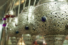 Ornate hanging incense burner Stock Images