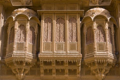 Ornate Haveli Royalty Free Stock Images