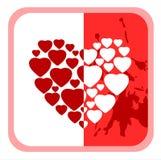 Ornate heart Stock Photos