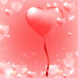 Ornate heart background Royalty Free Stock Photos