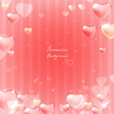 Ornate heart background Royalty Free Stock Photography