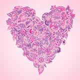 Ornate heart Royalty Free Stock Photos