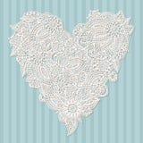 Ornate heart Royalty Free Stock Photo