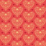 Ornate hearts Royalty Free Stock Photo