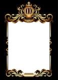 Ornate heraldic frame Stock Photography