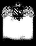 Ornate heraldic frame Royalty Free Stock Photography