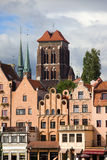 Ornate Houses in Gdansk Royalty Free Stock Image
