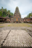 Ornate Inland  Temple  - Bali Royalty Free Stock Photography