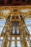 Ornate interior of the Catherine Palace Stock Photography