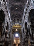 Ornate Interior of the Siena Cathedral Royalty Free Stock Image