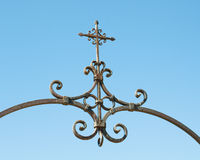 Ornate Iron Cross Stock Image