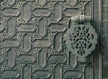 Ornate islamic door Stock Photos