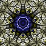 Ornate Kaleidoscopic Abstract Stock Photography