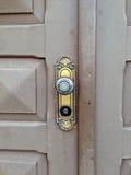 Ornate knob Stock Photo