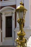 Ornate lamp at Parliament Buildings Stock Images