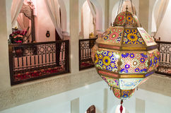 Ornate Lantern (Riad) Stock Photography