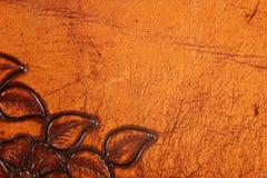 Ornate leather Stock Image