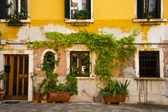 Ornate mail slot, Venice, Italy Royalty Free Stock Photo