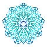 Ornate mandala round pattern. vector illustration