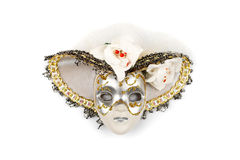 Ornate mask with hat Royalty Free Stock Photography
