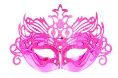 Ornate masks isolated on the white Royalty Free Stock Image
