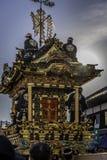 An ornate matsuri float Stock Images