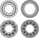 Ornate Medallions Royalty Free Stock Image