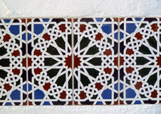 Ornate Mediterranean Tiles Stock Image