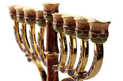 Ornate menorah Royalty Free Stock Photography