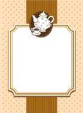 Ornate menu cover Stock Photo