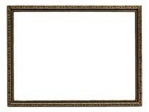 Ornate metal frame Stock Images