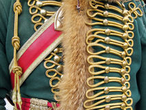 Ornate Military Uniform Royalty Free Stock Image