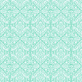 Ornate mint pattern. Mint lace ornate seamless texture pattern background royalty free illustration