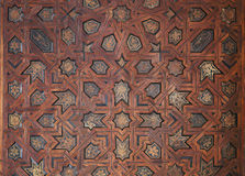 Ornate Moroccan ceiling Royalty Free Stock Photo