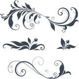 Ornate Motifs Design Royalty Free Stock Photos