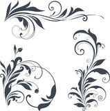 Ornate Motifs Stock Images