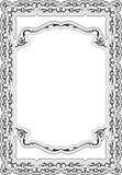 Ornate nice cool frame Royalty Free Stock Photos