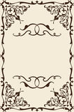 Ornate nice page Stock Photos