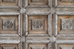 Ornate old wood Stock Image