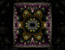 Ornate Oriental Carpet Royalty Free Stock Image
