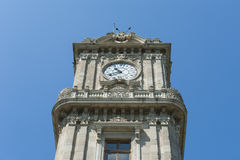 Ornate ottoman clock tower in istanbul Stock Image