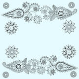 Ornate Paisley Pattern Royalty Free Stock Photos