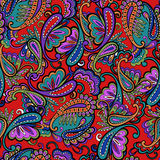 Ornate paisley print Stock Photography