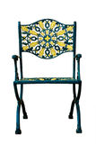 Ornate Patio Chair isolated Stock Photo