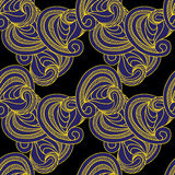 Ornate pattern seamless texture. Vector illustration/ EPS 8 Stock Image