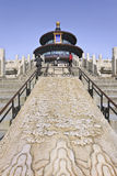 Ornate pavilion at Temple of Heaven, Beijing, China Stock Photography